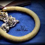 DSC 0431 150x150 - گردنبند دستبافت منجوق بافی (طلایی یکدست کد : 01GLDSP)